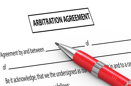 Pre-dispute arbitration